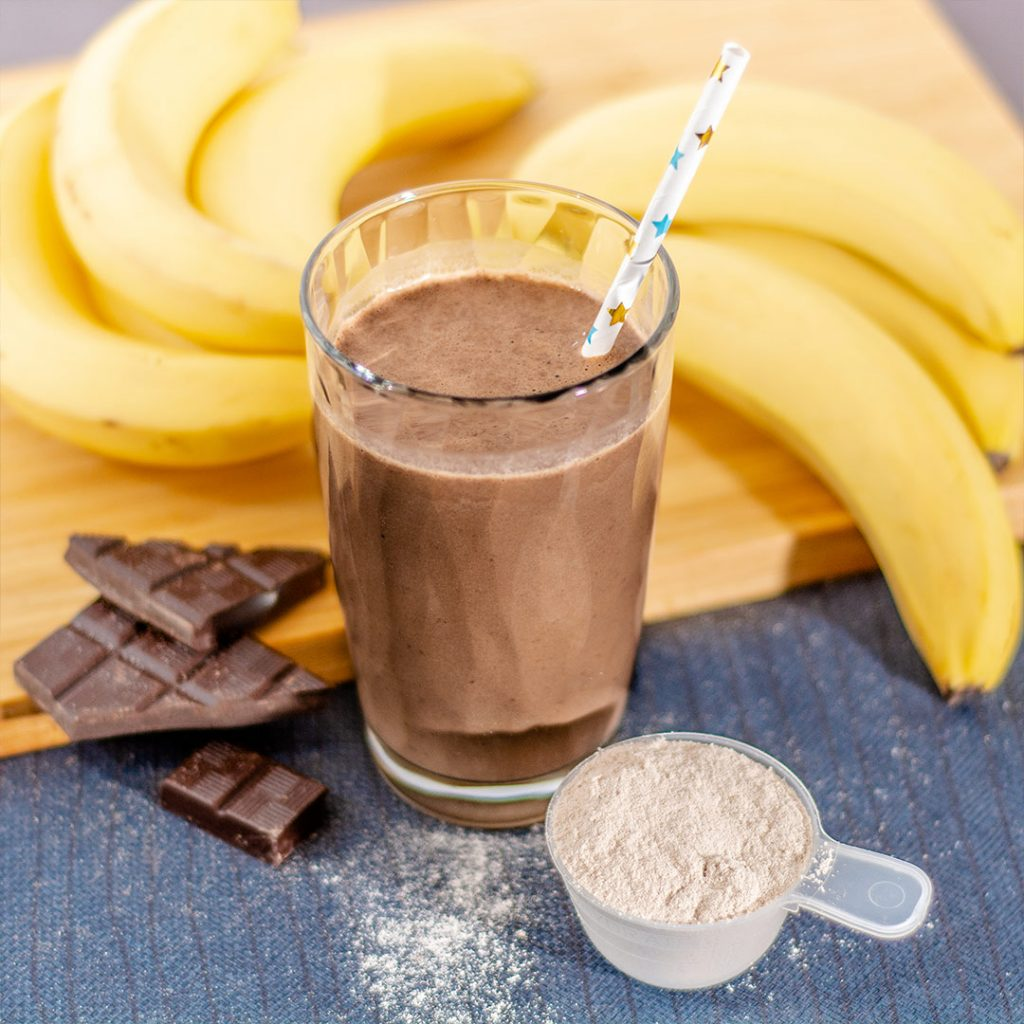 Chocolade wake-up smoothie