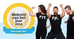 FIT.nl wint website van het jaar 2018 🎉
