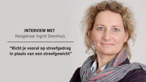 Interview met hoogleraar Ingrid Steenhuis over hoe je een terugval voorkomt