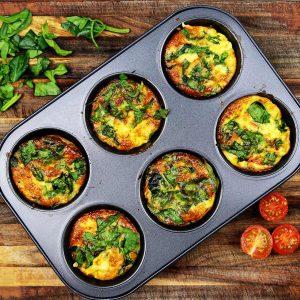 Hartige Ei muffins recept