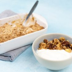 Recept appel crumble