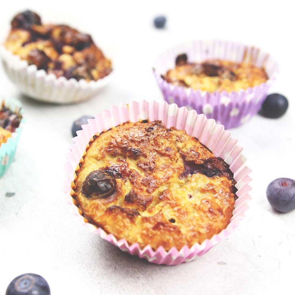 Zoete ontbijtmuffins