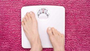 overgewicht-weegschaal