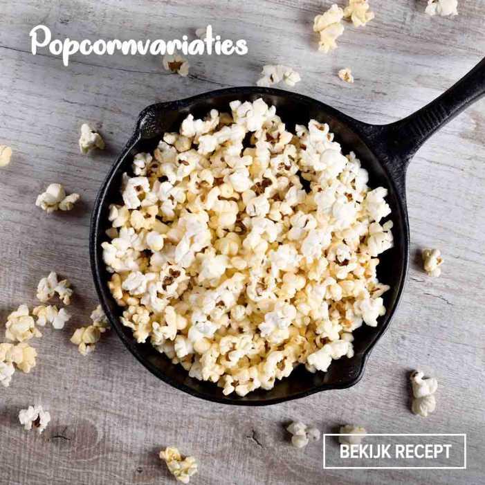 popcorn gezonde snack