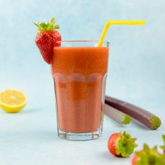 recept zoetzure rebarber smoothie