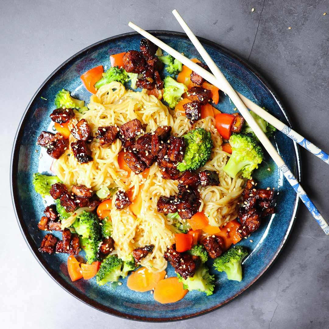 recept veganistische wok