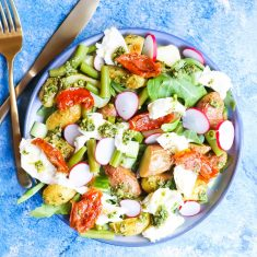 Italiaanse aardappel salade recept