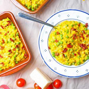 vegetarische Paella gezonde recepten