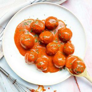 Recept-vegan-meatballs gezond recepten