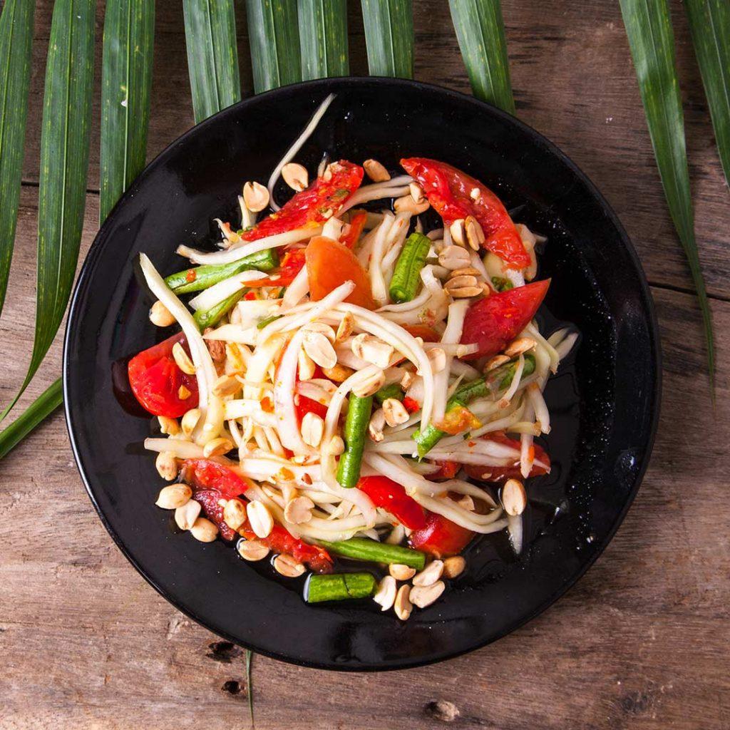 Thaise Som Tum-salade