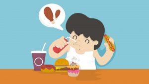 Kun je door één etentje flink aankomen?