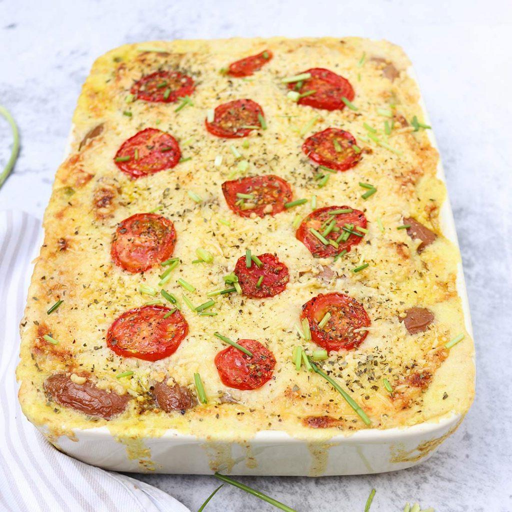 Franse aardappelschotel