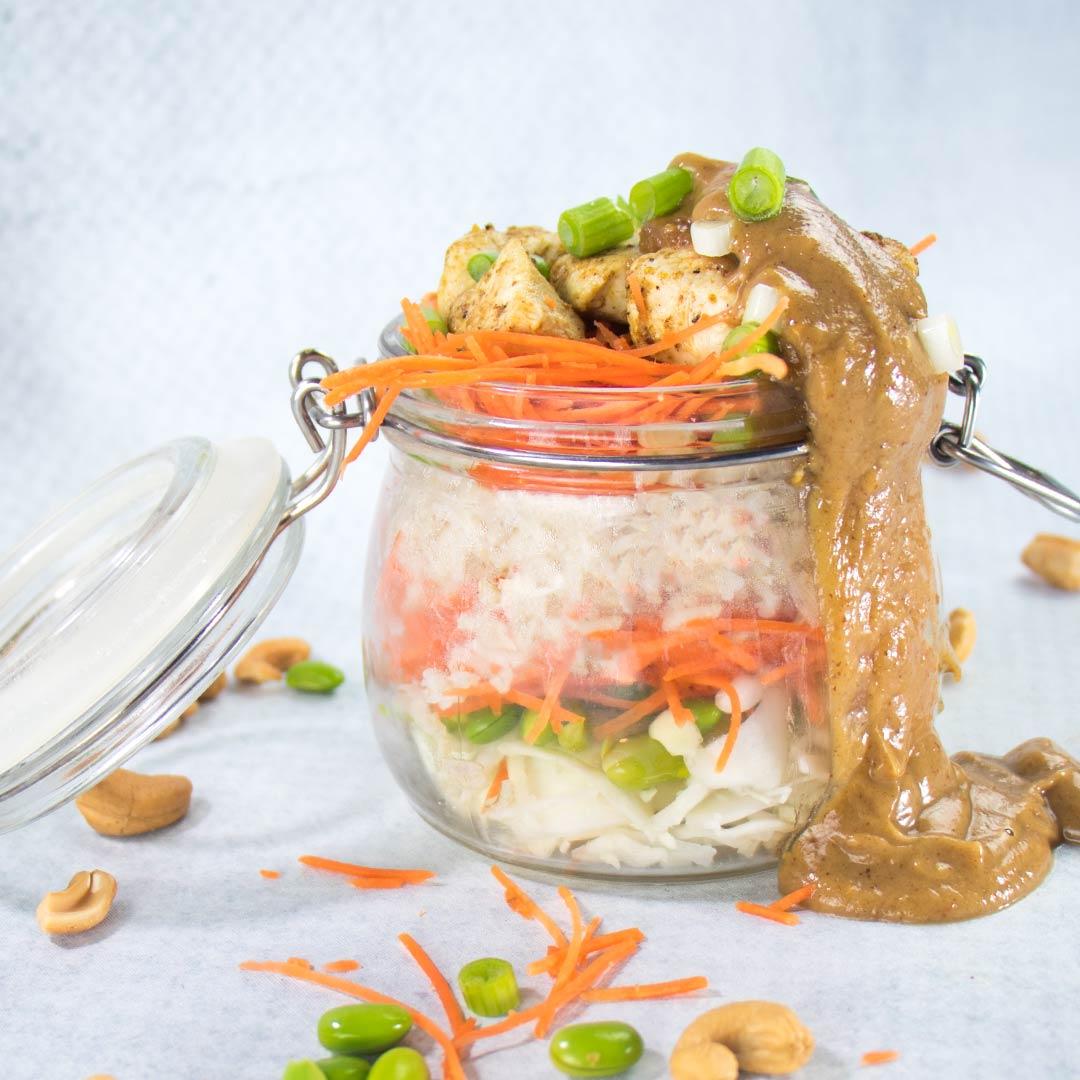 Witte koolsalade recept