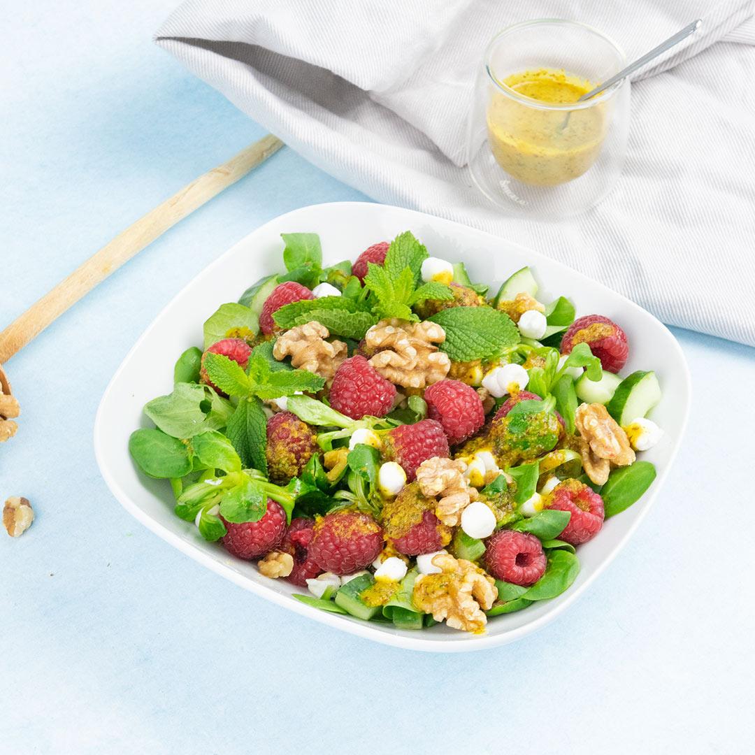 Geitenkaas-salade-recept