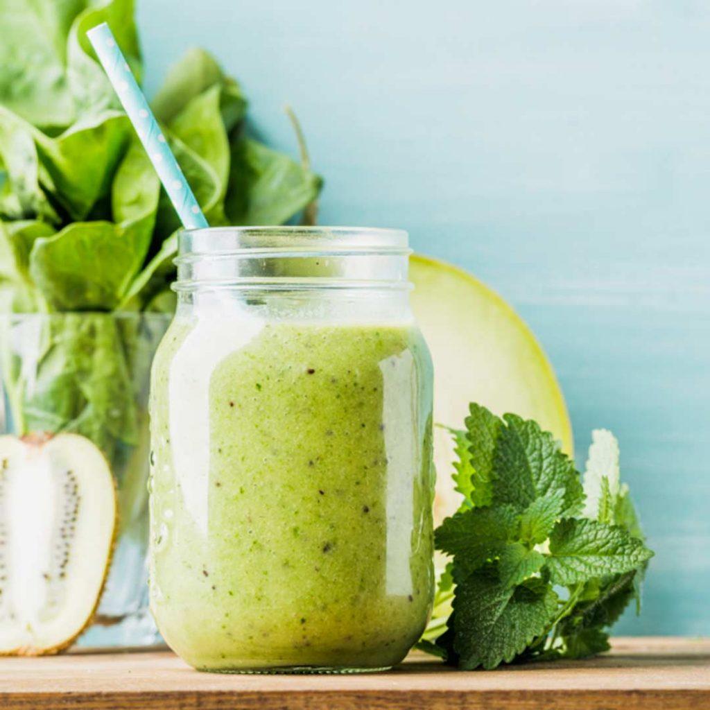 Frisse groene smoothie