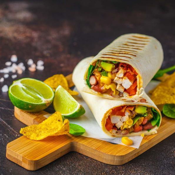 Mexicaanse wraps recept