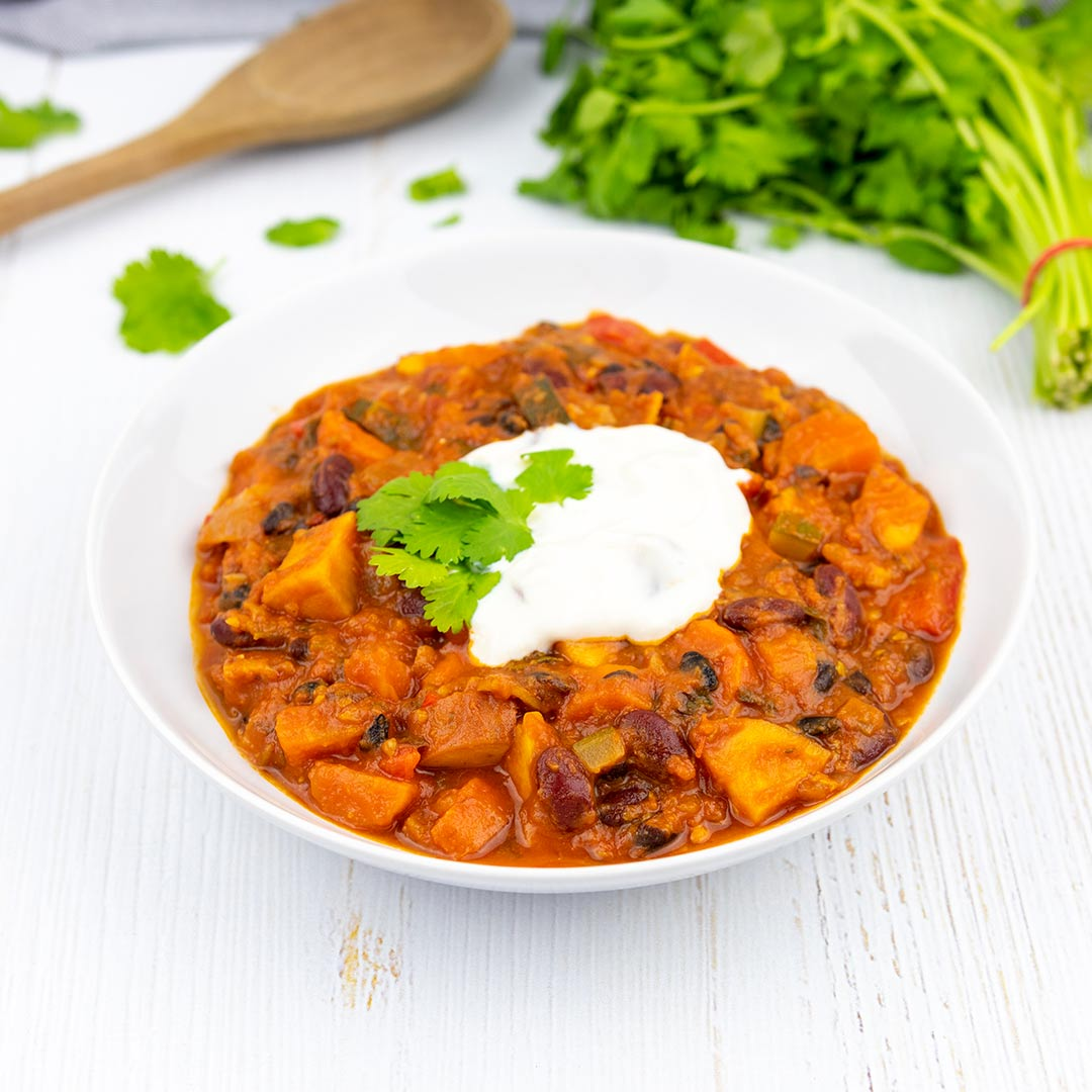 Vegan chili con carne