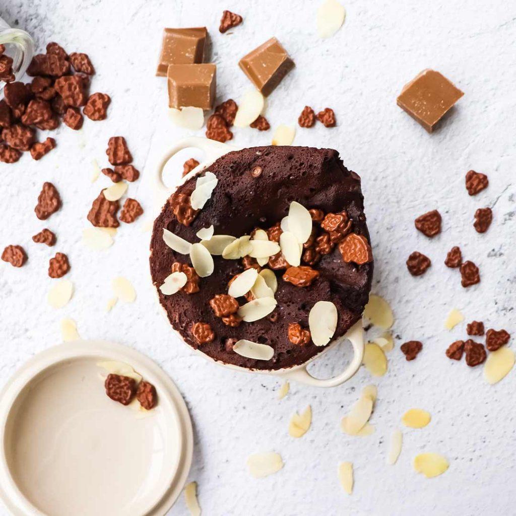 Chocolade protein mugcake