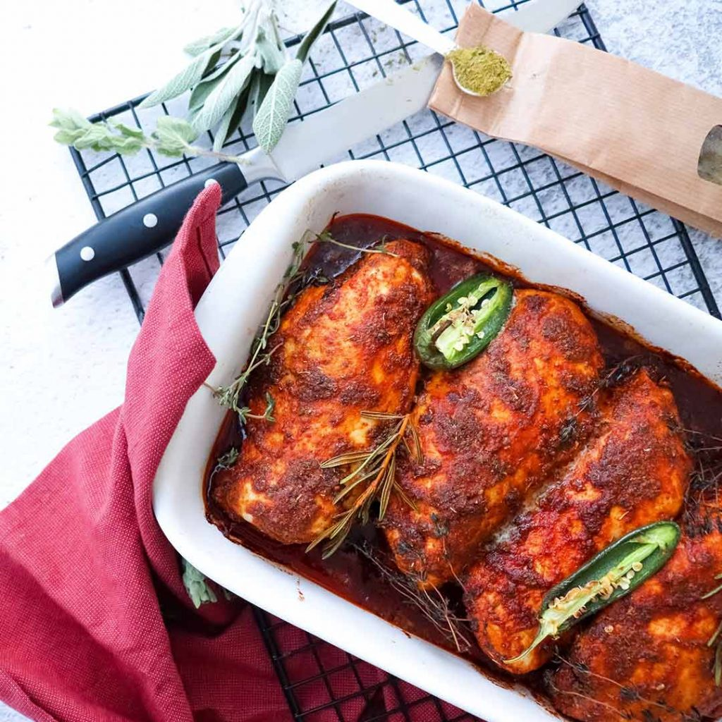 Portugese kip uit de oven