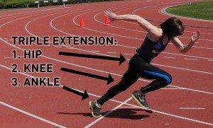 heupextensie-sprinten