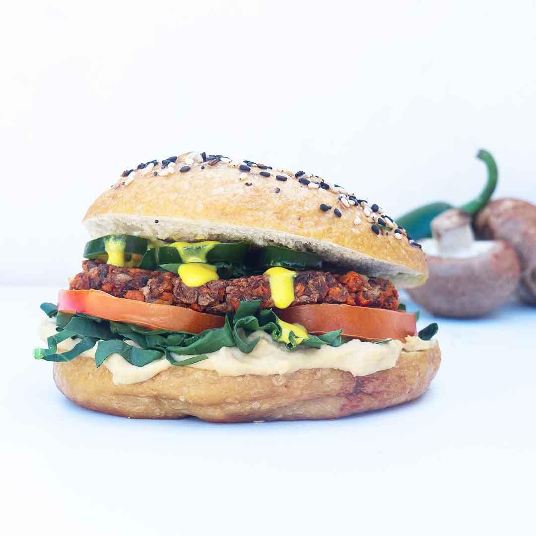 Vega-burger-recept