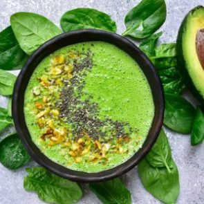 Avocado-spinazie-smoothiebowl-recept